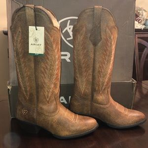 🤠 BNWT ARIAT leather boots 👢
